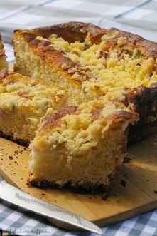 Ciasto drożdżowe z rabarbar...