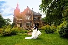 Bajkowe sesja ślubna w Pałacu Żeleńskich.