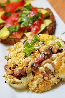 Dzisiejsze śniadanie na redukcję 381 kcal, cały przepis z składnikami po klik...