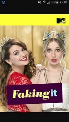 Faking it-Dwie najlepsze przyjaciółki, Karma i Amy, decydują się udawać lesbijki, by zyskać na popularności.