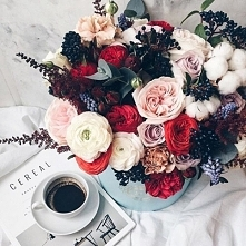 coffe flowers cereal