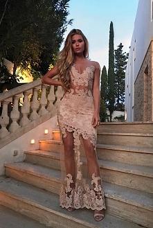 Sexy Weiße Abendkleider Lan...