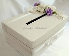 pudełko na koperty, wesele