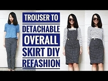 DIY: TROUSER TO OVERALL/BIB...