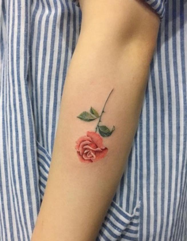 Róża Na Tatuaże Zszywkapl