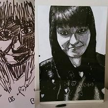 1 portret w życiu ^^ 3 minuty versus 5 godzin