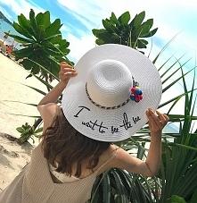 Kapelusz idealny na plażę