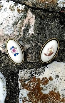 Galki meblowe porcelanowe