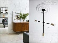 Wisząca lampa STICKS - dostępna w =mlamp=  Prostota i styl to cechy naszej sufitowej lampy, która wpisze się w wiele różnorodnych aranżacji - od retro, przez industrialne, po ek...