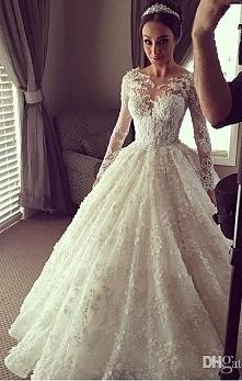 W takiej sukience można wychodzić za mąż *.*