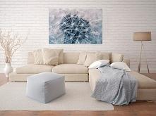 Biały dmuchawiec - fotoobraz do sypialni