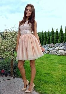 Piękna koktajlowa sukienka ...