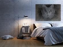 Wilcze echo - nowoczesny obraz do sypialni
