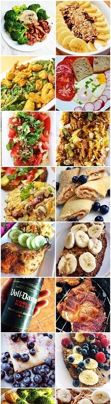 -1 kg w 2 tygodnie bez spadku mięśni :) jedząc te wszystkie pyszności, nie gł...