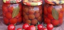 Pomidorki koktajlowe w galarecie  do słoika pomidorki koktajlowe 1 kg Lubię N...