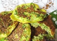 Lekkie placuszki z ogórka Lekkie, zielone i wyraziste w smaku, gorąco polecam...