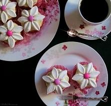 Wiosenne Babeczki - Kwiatuszki z Marshmallows
