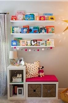siedzisko w pokoju dziecka