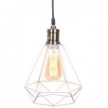 Lampa wisząca COBI - dostępna w =mlamp=  Prezentowane oświetlenie to idealnie rozwiązanie do pomieszczeń w stylu industrialnym oraz retro. W tej lampie żarówka opleciona jest st...
