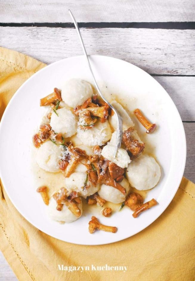 Włoskie leniwe z kurkami. Przepis po kliknięciu w zdjęcie.