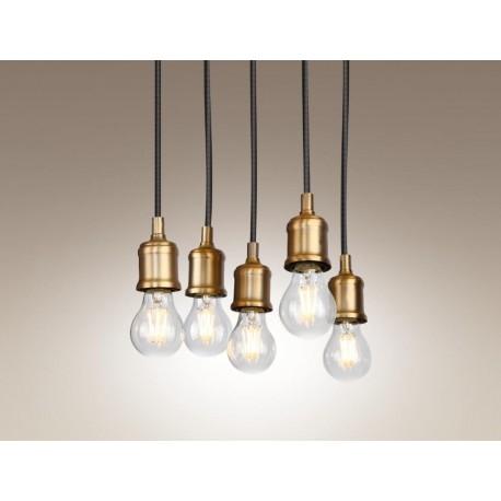 Oprawy o designerskiej formie , proste, pasujące do wnętrz loftowych, surowych i industrialnych.
