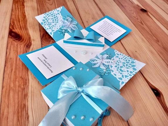 Pudełko na ślub, Wykonam na zamówienie. Więcej info: milena.szubinska@o2.pl