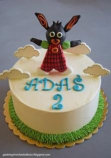 Tort z króliczkiem Bing