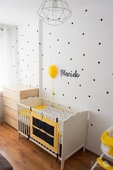 pomysł na pokój niemowlaka