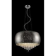 VISTA P0076-06K SILVER ZUMA LINE Lampa wisząca  Lampa VISTA to połączenie kryształków z imitacją rozgwieżdżonego nieba. Nowoczesny wygląd lampy przypadnie do gustu nie tylko oso...
