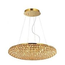 KING SP12 65CM IDEAL LUX LAMPA WISZACA 73293 ZŁOTO Seria Ideal Lux King to wy...