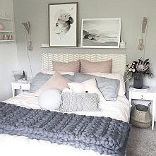 ślicznie urządzona sypialnia