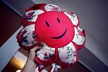 poduszka-kwiatek