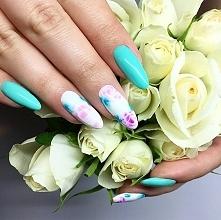 Piękna stylizacja z Fuchsia i Emerald Aquarelle. Wam też się podoba? :)