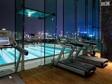 Hotel Icon w Hong Kongu. Ćwiczyłabym :D