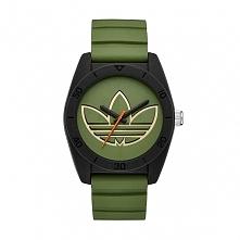 Adidas ADH3164  męski zegarek wskazówkowy z czarną kopertą na silikonowym, ci...