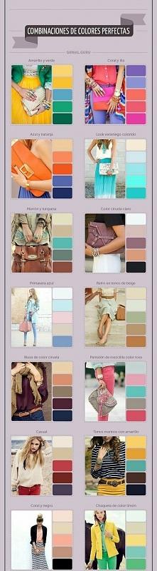 Jak dobierać kolory, by całość wyglądała spójnie i modnie.