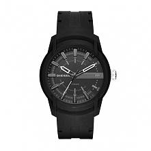 Diesel DZ1830  męski zegarek sportowy wykonany z tworzywa w kolorze czarnym. ...