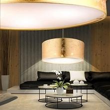 Nowoczesna rodzina lamp z abażurem, o bardzo ciekawym wzorze. abażury wykonan...