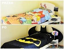 Metamorfoza łóżka, na blogu opis i instrukcja wykonania