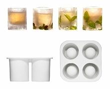 Specjalna forma pozwoli Ci przygotować niepowtarzalne lodowe szklanki, które wykonasz według własnego pomysłu.