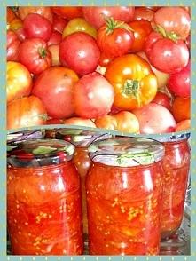 Pomidory na zimę już gotowe ☺️