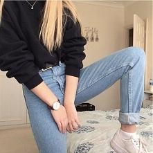 Stylizacje z mom jeans - LINK W KOM!