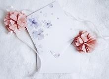 ręcznie malowana kartka