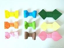 Instruktaż ukazujący proces tworzenia muchy origami :)