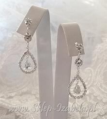 kolczyki wiszące, biżuteria