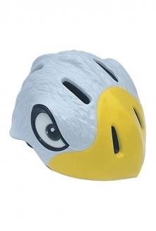 Kask CRAZY STUFF Orzeł fantastyczny wzór, bezpieczeństwo i ochrona głowy dziecka