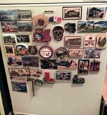 Moja kolekcja magnesów z podróży