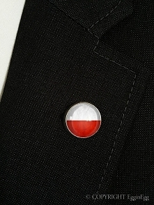 Flaga Polski - wpinka do ma...
