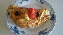 Obłędny omlet z szynką, oli...