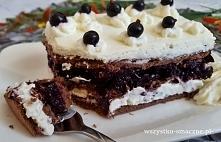 Ciasto porzeczkowe bez piec...